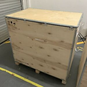 Nefab large wooden crate for export or storage