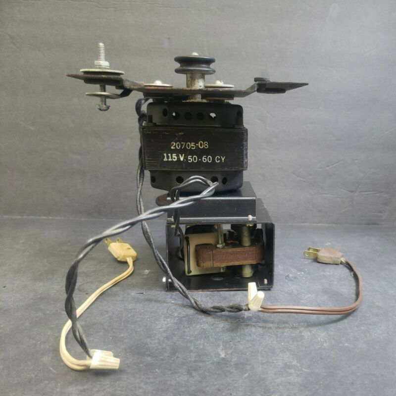 Latw LESLIE LOWER 2-Speed Stack Motor Complete 122 145 147 Tested #559