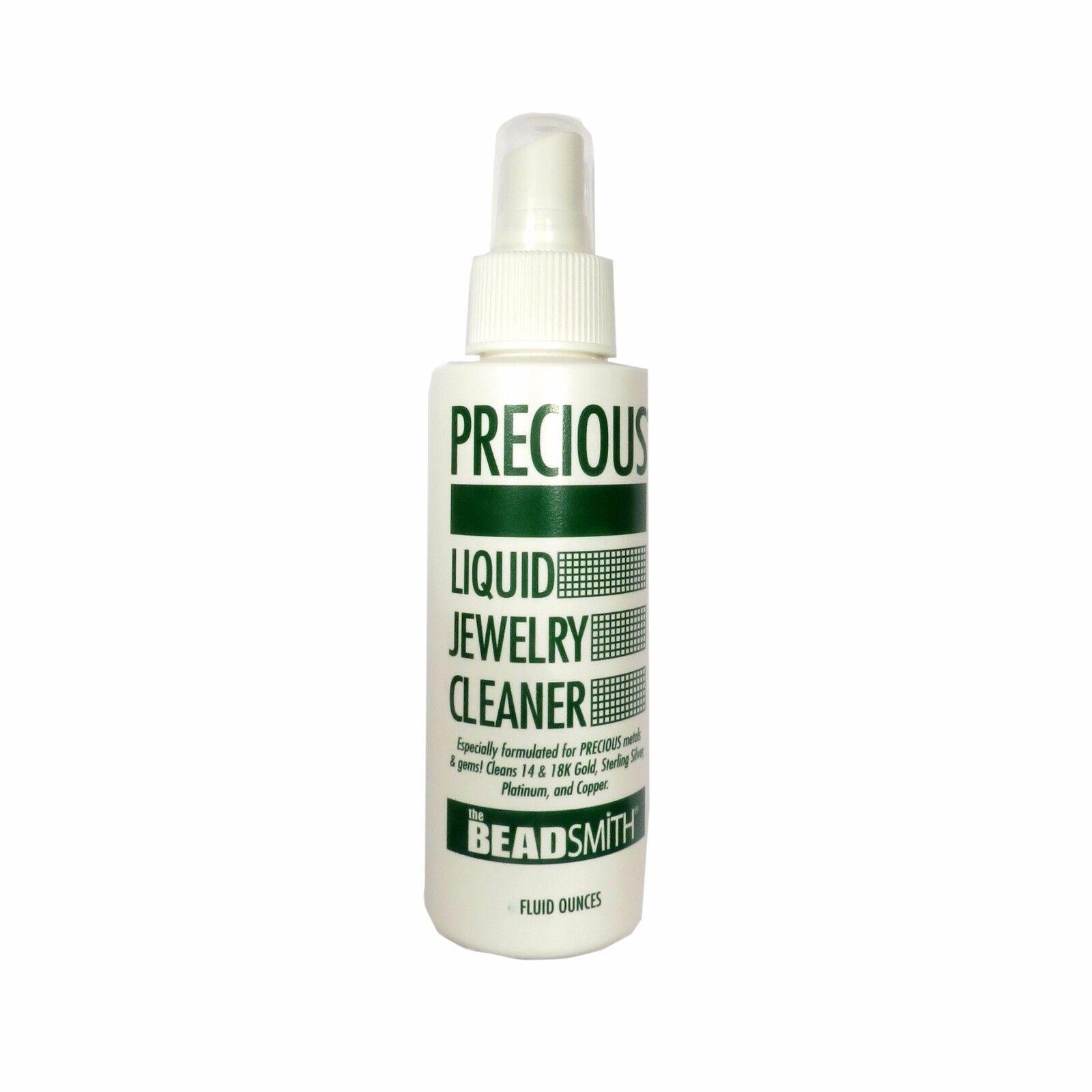 Precious Liquid Jewelry Cleaner - Spray On & Rinse - 4 Ounce