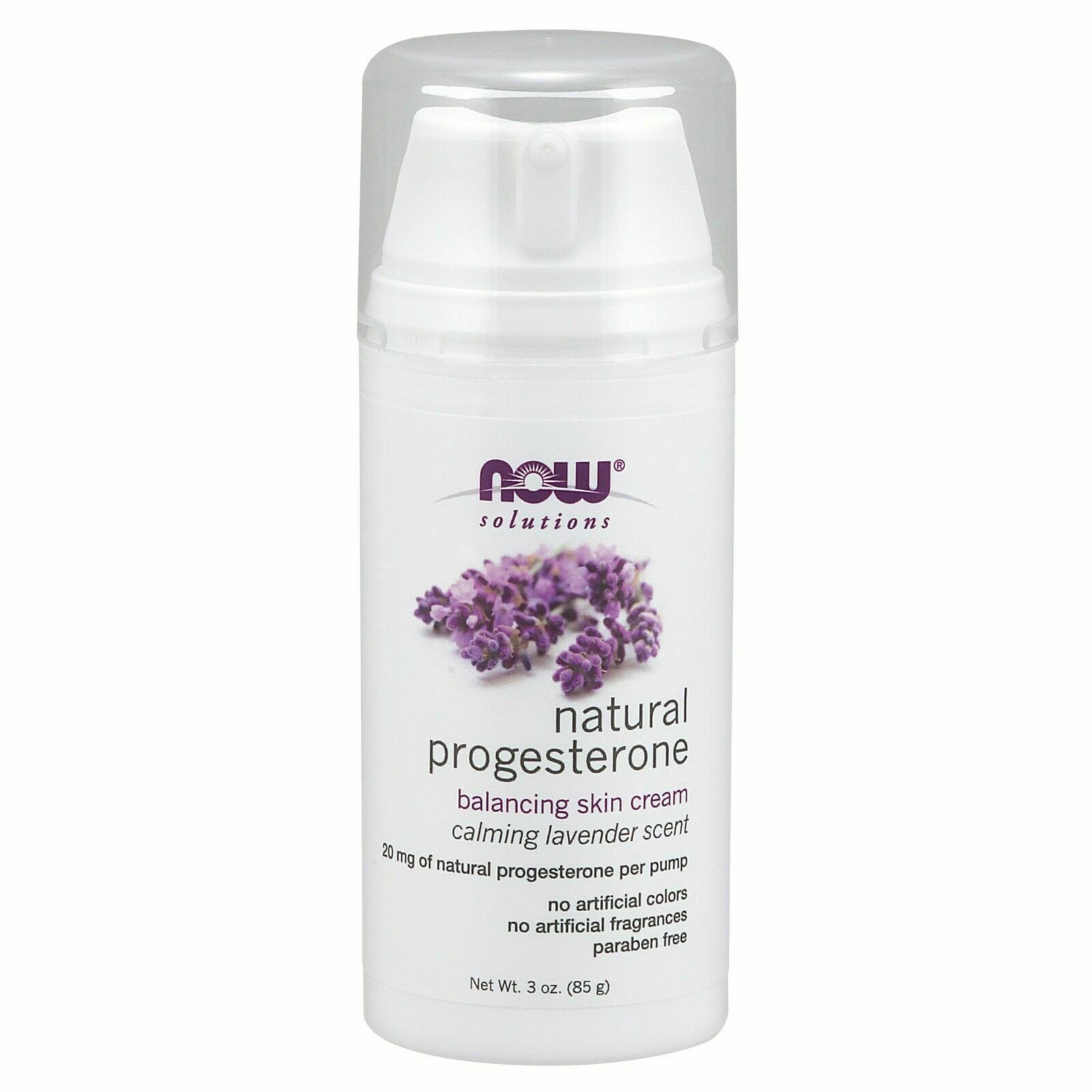 Now Foods Solutions Natural Progesterone Balancing Skin Crea