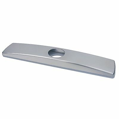 Kitchen Sink Faucet Hole Cover Deck Plate Stainless Steel Finish