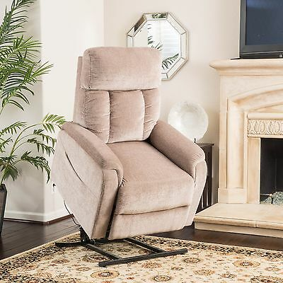Edenton 2-Tone Wheat Fabric Lift Up Chair