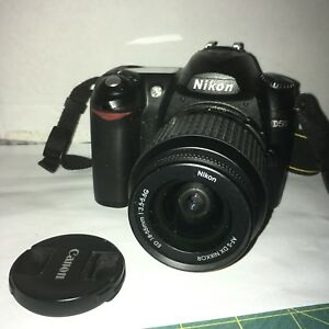 Nikon D50 camera with 3 lenses and carrying bag