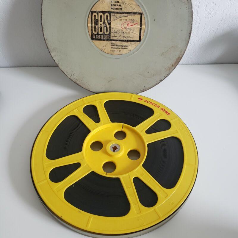 16mm film CBS TV Recording Sealtest Big Top Children