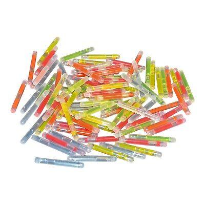 1 Inch Glow Sticks (1.5 Inch Mini Neon Glow Sticks Mixed Bulk- Fishing, Party,)