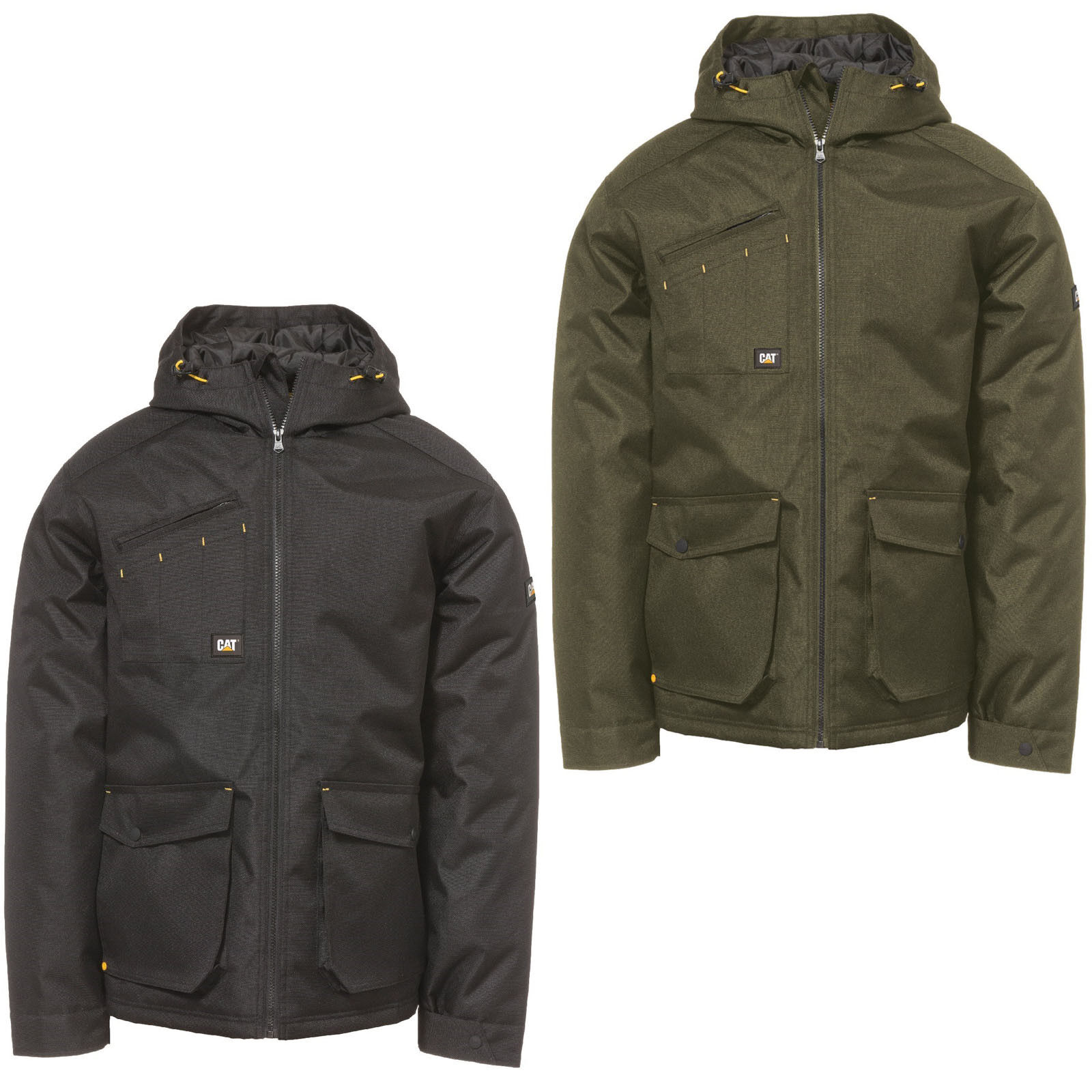 81e33e5fccab CAT Caterpillar Battleridge Jacket Mens Insulated Water Resistant Workwear  Coat