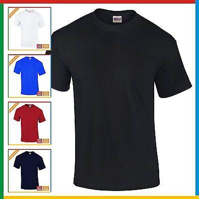 MENS PLAIN T-SHIRT GILDAN Ultra Cotton T Shirt: S M XL XXL 3XL 4XL 5XL BULK BUY