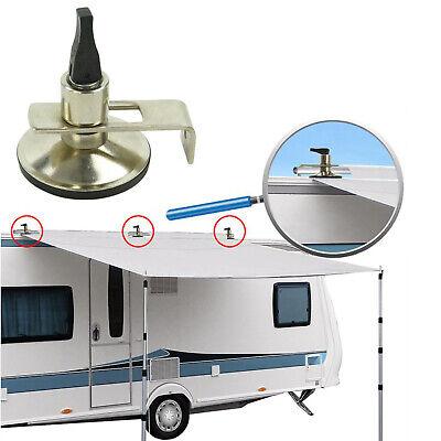 2x Klappsauger Schleusenstab | Camping Bus | Vorzelt | Sonnensegel | Saugnapf - Berg Klappe