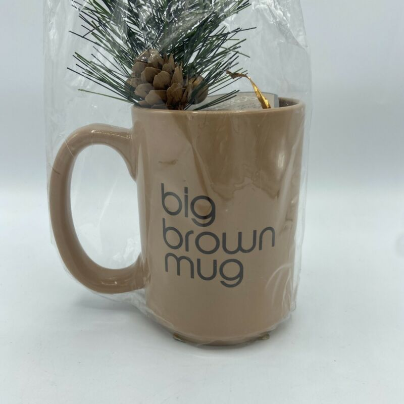 Bloomingdales Big Brown Mug - New