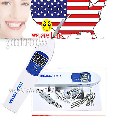 Dental Pulp Tester Oral Tooth Nerve Vitality Clinical Endodontic Instrument