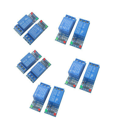 10pcs 5v Single 1 Channel Relay Module Board Shield For Arduino Raspberry Pi Usa