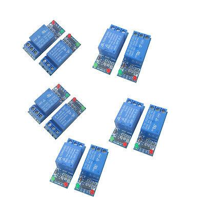 10pcs 5v Single 1 Channel Relay Module Board Shield For Arduino Raspberry Pi Usa