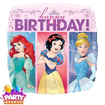 Princesa Disney Sueña a lo Grande Globo Metalizado Happy Birthday Niña Parte