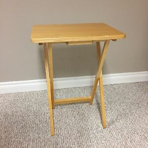 TV tray tables and stand