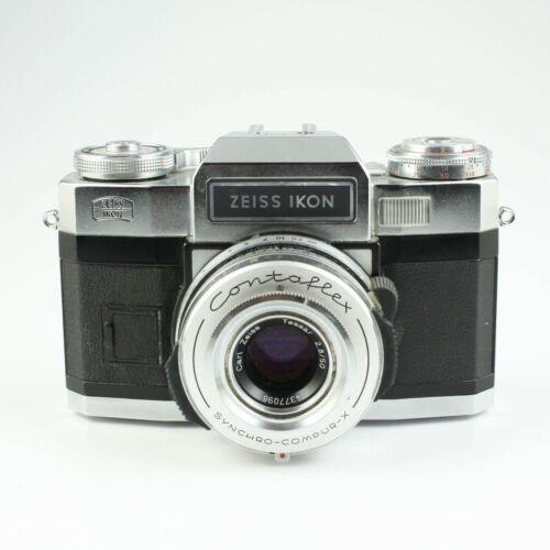 Zeiss Ikon Contaflex Super BC - Vintage 35mm Film Camera - Tessar F/2.8 50mm