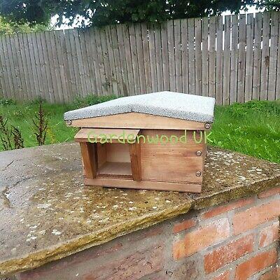 Handmade Wooden Hedgehog Hibernation Home Animal Shelter Hog house Habitat