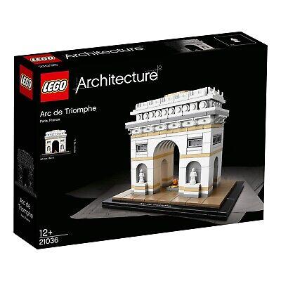 LEGO Architecture Arc de Triomphe 21036 Brand New & Factory Sealed