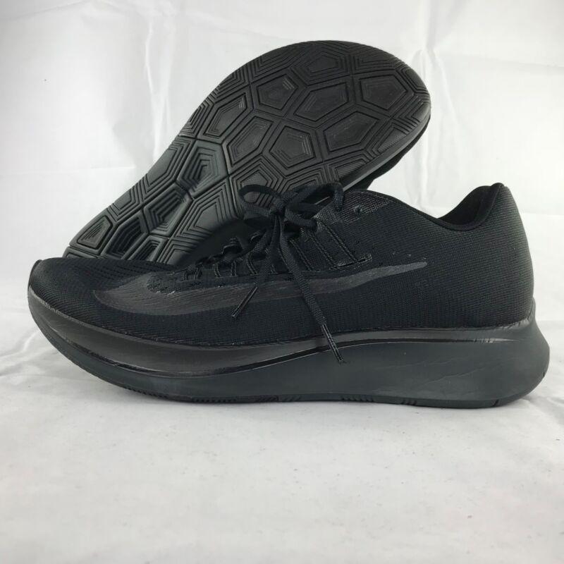 89f22b96ecc6 Nike Zoom Fly Triple Black Anthracite Running Shoes 880848-003 Men s ...
