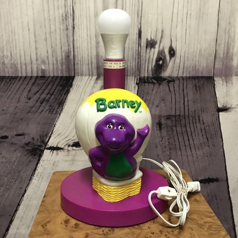 Barney Happiness Express Hot Air Balloon Nursery Light Lamp