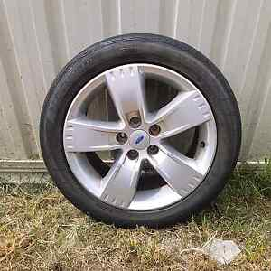 4x 245/45/R17 ford stock tyres from xr6 Beldon Joondalup Area Preview