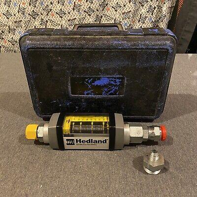 Badger Meter H760a-040-rf Hedland Variable Area Flow Meter