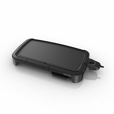 BLACK+DECKER Family-Sized Electric Griddle with Warming Tray