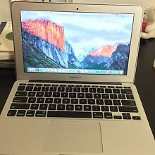 "MACBOOK AIR 11"" MID 2012 i5 1.7GHZ IMMACULATE CONDITION Haymarket Inner Sydney Preview"