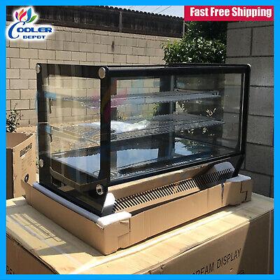 New 35 Bakery Deli Refrigerator Table Top Display Case Fridge Showcase Nsf