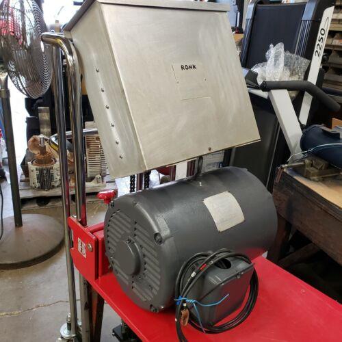 Ronk Phase Converter , 240V, 20 HP, FLA-90 Amps