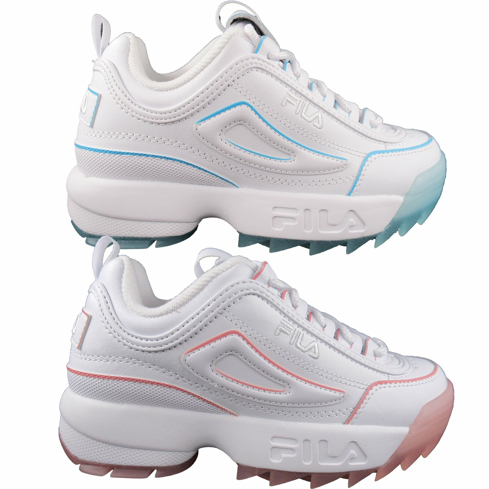 Fila Women's Disruptor II 2 Ice Casual Shoes Casual Athletic Sports Shoes