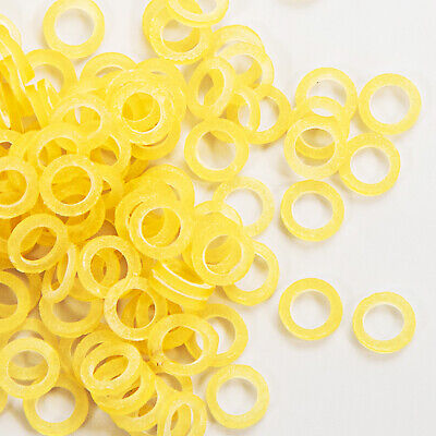 Dental Orthodontic Intraoral Elastic Latex Rubber Bands Yellow 3.54.56.5 Oz