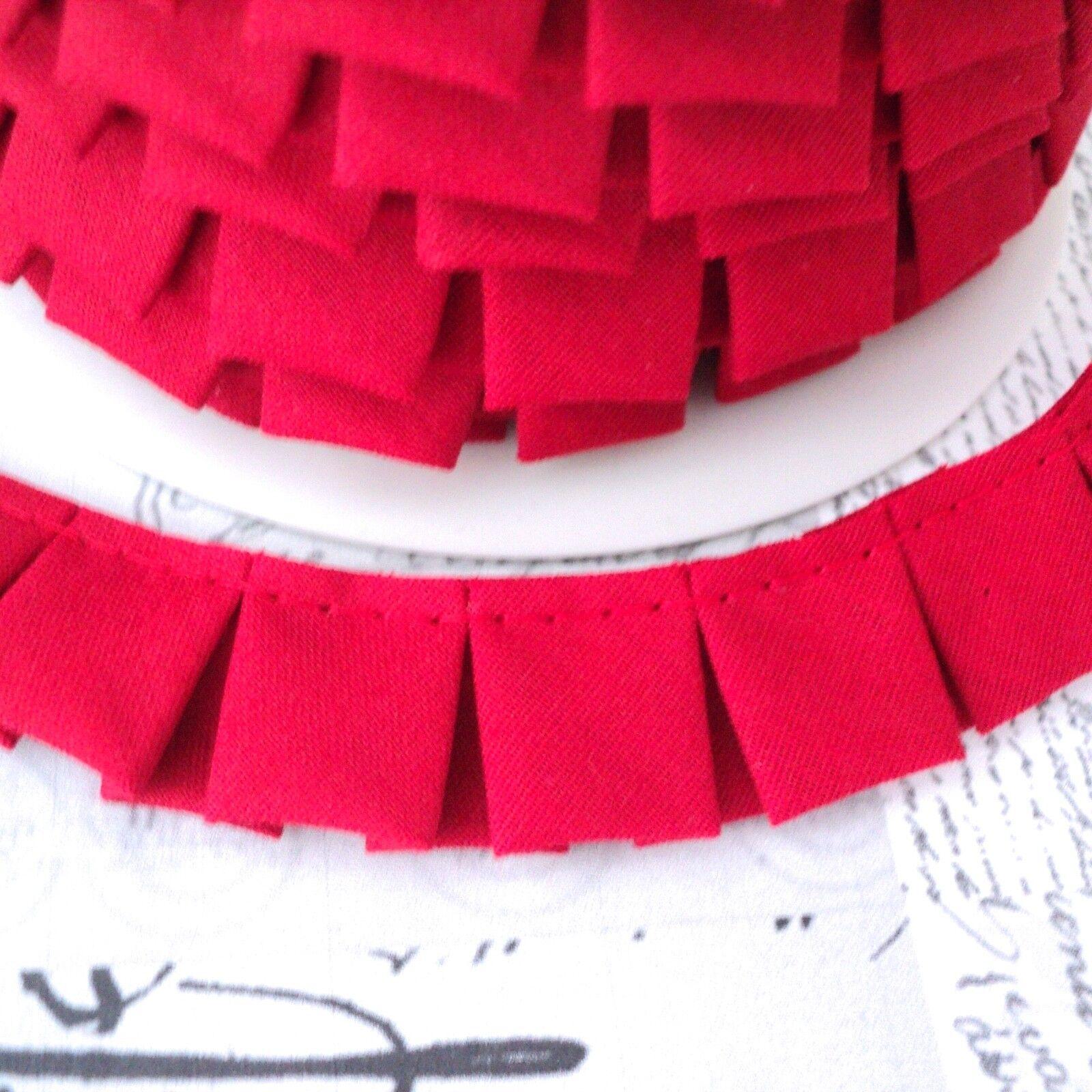 Réunis festonné edge trim-lime 56-tissu de coton