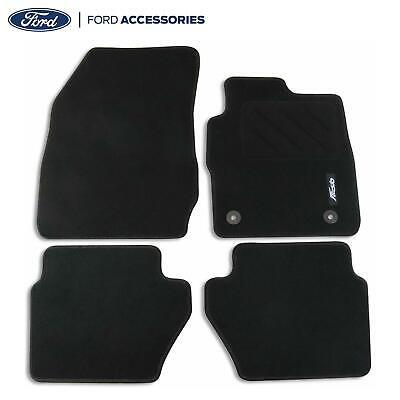 Car Parts - Genuine Ford Fiesta Mk7 Front & Rear Carpet Contour Floor Mats 2012-2017 1947554