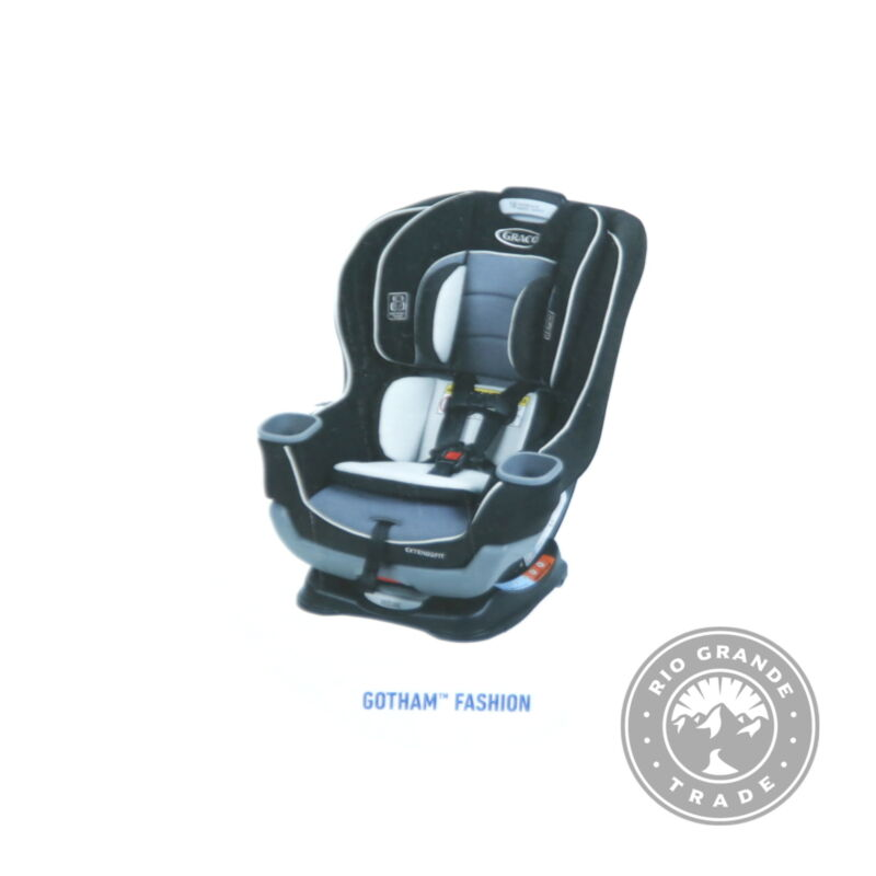 OPEN BOX Graco 1963212 Extend2Fit Convertible Adjustable Car Seat in Gotham