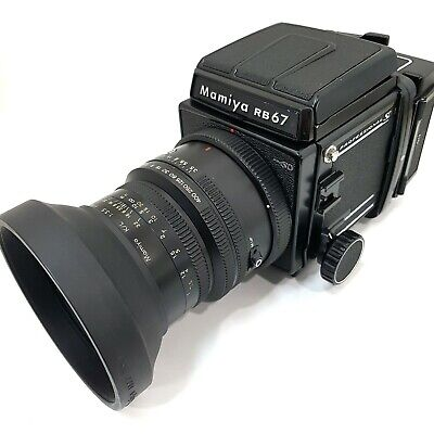 Mamiya RB67 Pro SD Body w/  KL90mm f3.5 Lens 120 Film Back