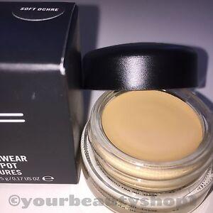 Mac eyeshadow pro longwear paint pot soft ochre brand new for Mac pro longwear paint pot painterly