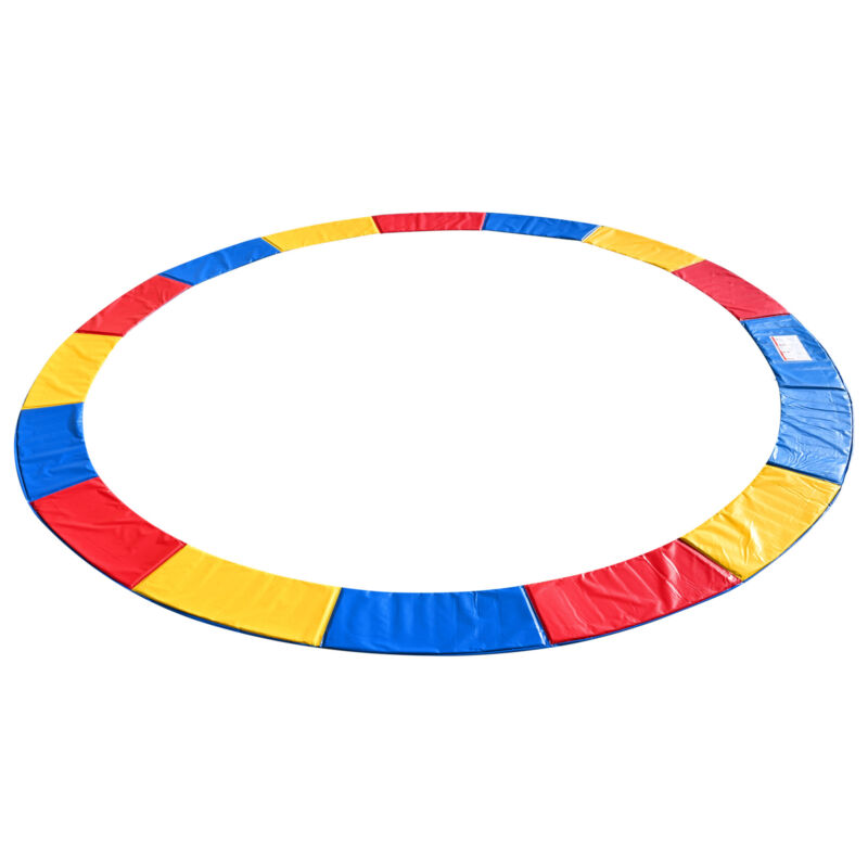15 Ft Universal Replacement Round Trampoline Safety Pad PVC EPE Foam Protection