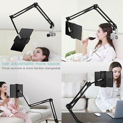Adjustable ipad bed desk Stand holder mount fr Tablet Phone IPAD/iPAD Pro 12.9