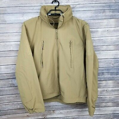 Maelstrom TAC PRO Tactical Soft Shell Coyote Military Jacket Size 2XL Pockets -