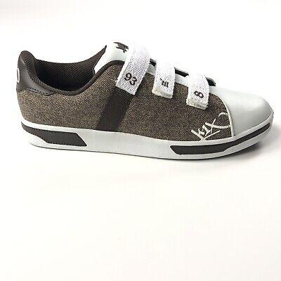 K1X KIX Club Selecao Mens Size 12 Strap Brown Tennis Shoes KX350263 Chocolate for sale  Warren