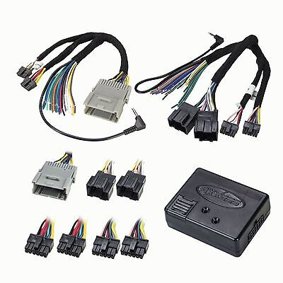 CAR RADIO STEREO FACTORY INTERFACE REPLACEMENT W/WIRING HARNESS ADAPTER PLUG NEW