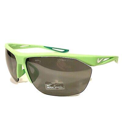 NIKE Mens Tailwind EV0915 303 316 Neon Green Sport Wrap Sunglasses (MSRP (Nike Sport Sunglasses)