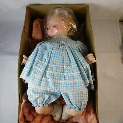 Madame Alexander Baby Doll PUSSY CAT Vintage New in Original Box Vintage Cries