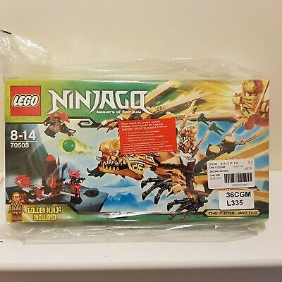 LEGO Ninjago The Golden Dragon (70503) *DISCONTINUED*  *RARE* Brand New Sealed