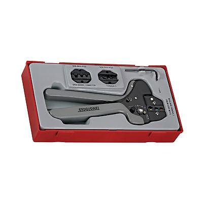 Teng Tools Ttcp04 - 4 Piece Ratcheting Crimping Tool Set