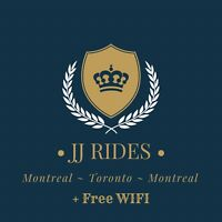 Daily Montreal to Toronto 8:00am/9:30am JJRIDE