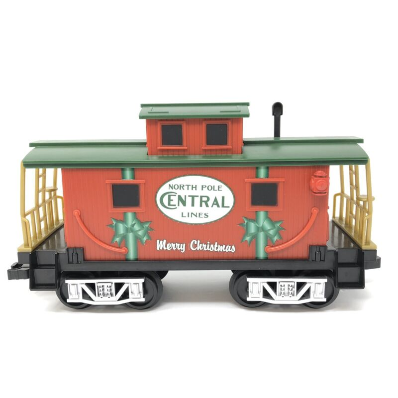 Lionel Ready To Play Train Caboose North Pole Central Lines -from 7-11729 set