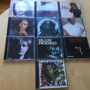 10CD/Sade/Lightfoot/Turner/Marley/Dylan/Cochran/B Rodeo/Cummings