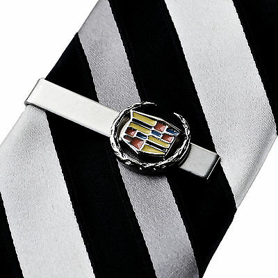 Cadillac Tie Clip - Tie Bar - Tie Clasp - Business Gift - Handmade - Gift Box