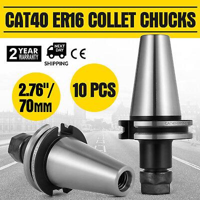 10pcs Cat40 Er16 2.7570mm Collet Chucks 20000rpm Tool Holder Stock Cover Cheap